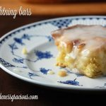 Lightning Bars with Almond Icing