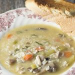 Chicken and Rice Harvest Soup