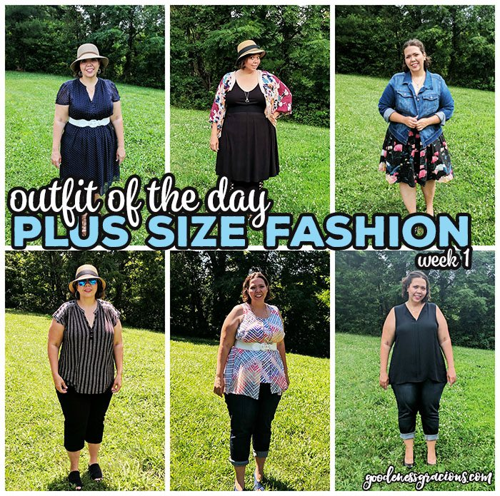 Plus Size Clothing- Outfit of the Day: Are you a plus size woman like me and CRINGE at the thought of trying to find something to wear? Join me on my journey to build my wardrobe one piece at a time with my weekly Outfit of The Day recap posts. We will discover plus size brands and options together!