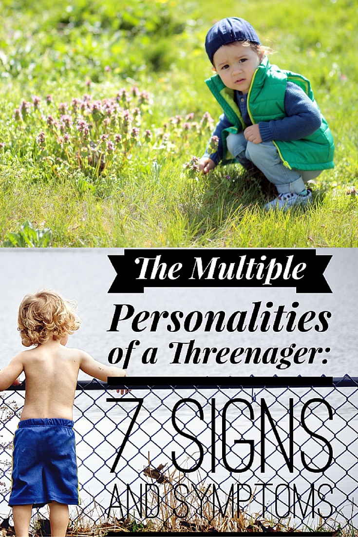 Are you the parent of a threenager? The multiple personalities of a toddler are almost to much to bear some days. 7 signs and symptoms you need to know