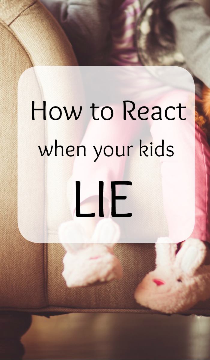 How do you react when your kids lie? Simple strategies to help reestablish trust with your kids and reopen the lines of communication.