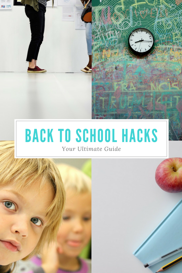 The best back to school hacks for kids and parents. Includes the organizational tips, school resources, and encouragement you need!