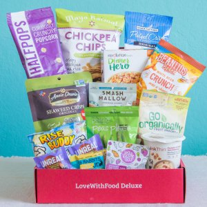 Love with Food by SnackNation Deluxe Free Box