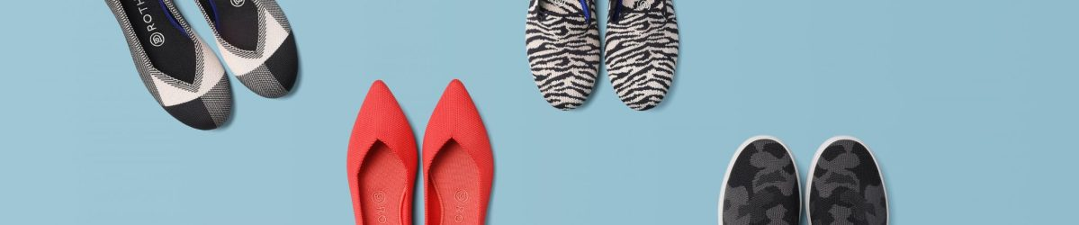 Rothy's Shoes Header