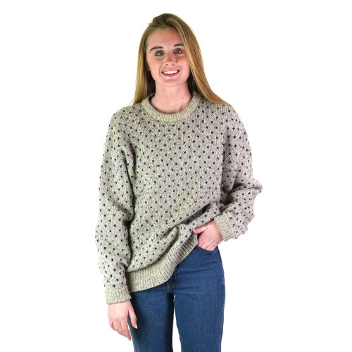Vintage 90s Slouchy Chunky Wool Pullover Sweater Size Large
