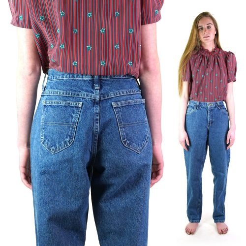 Riders Tapered Loose Fit Jeans Vintage 80s 31 in Waist