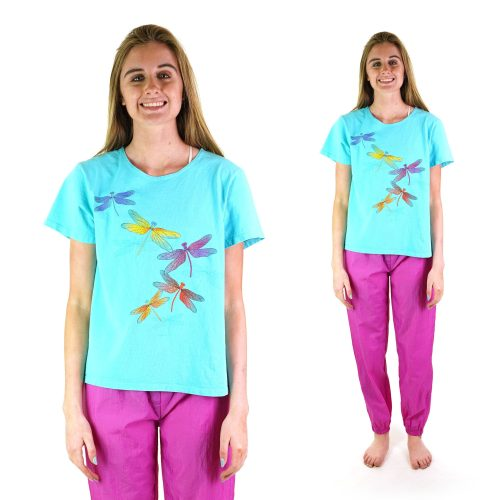 Vintage 90s Dragonfly Tshirt Size Small