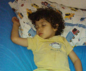 My Son - Napping