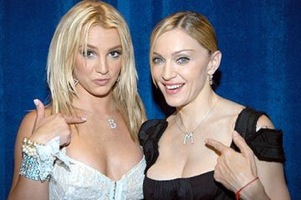Madonna and Britney Spears