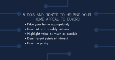 5 Do's and Don'ts to Helping Your Home Appeal to Buyers