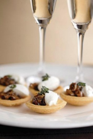 Sparkling ways to pair champagne with food