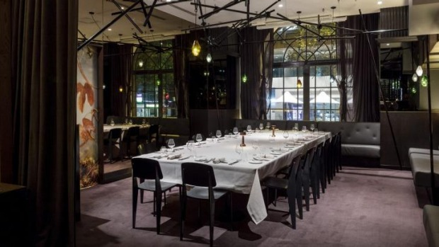 Sydneys best private dining rooms 2015