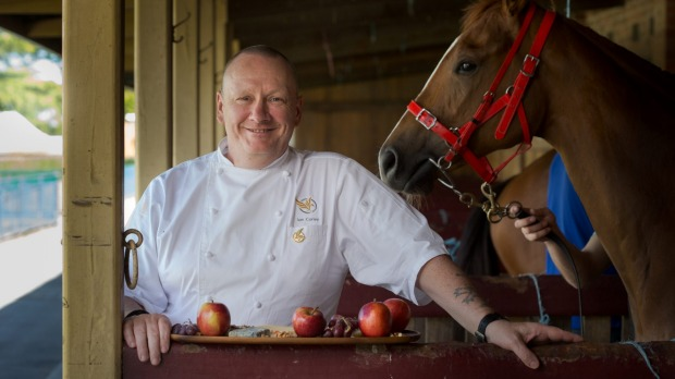 Ian Curley is one of the big name chefs catering at Caulfield.