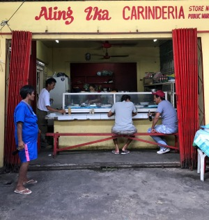 Aling Ika Carinderia serves lumpia crepes in Cavite.