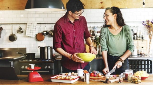 Image result for cooking with partner