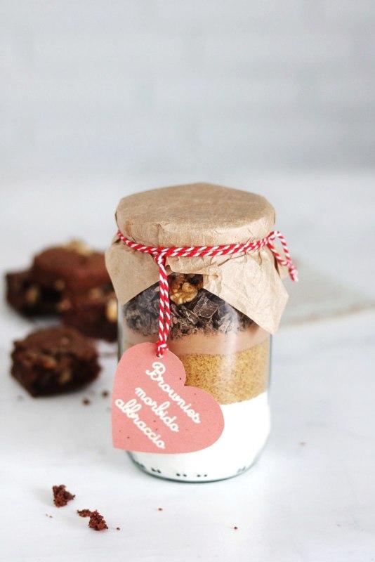 brownies Morbido Abbraccio in the jar