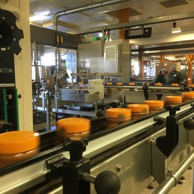 calve pindakaas fabriek