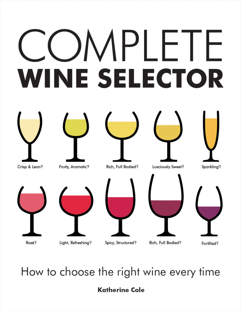 Katherine Cole's brand spanking new book The Complete Wine Selector: How To Choose The Right Wine Every Time.
