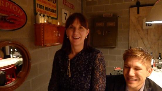 Wynns Winemaker Sue Hodder at Toronto's Gusto 101 for a special Wynns dinner.