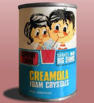 One of the highlights of going to visit my Gran, the cocktail of sugar, bicarbonate of soda, and artificial colouring and flavouring that is Creamola Foam.