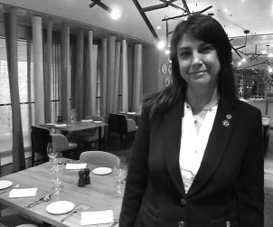 Sommelier Lorie O'Sullivan at The Ritz-Carlton, Toronto.