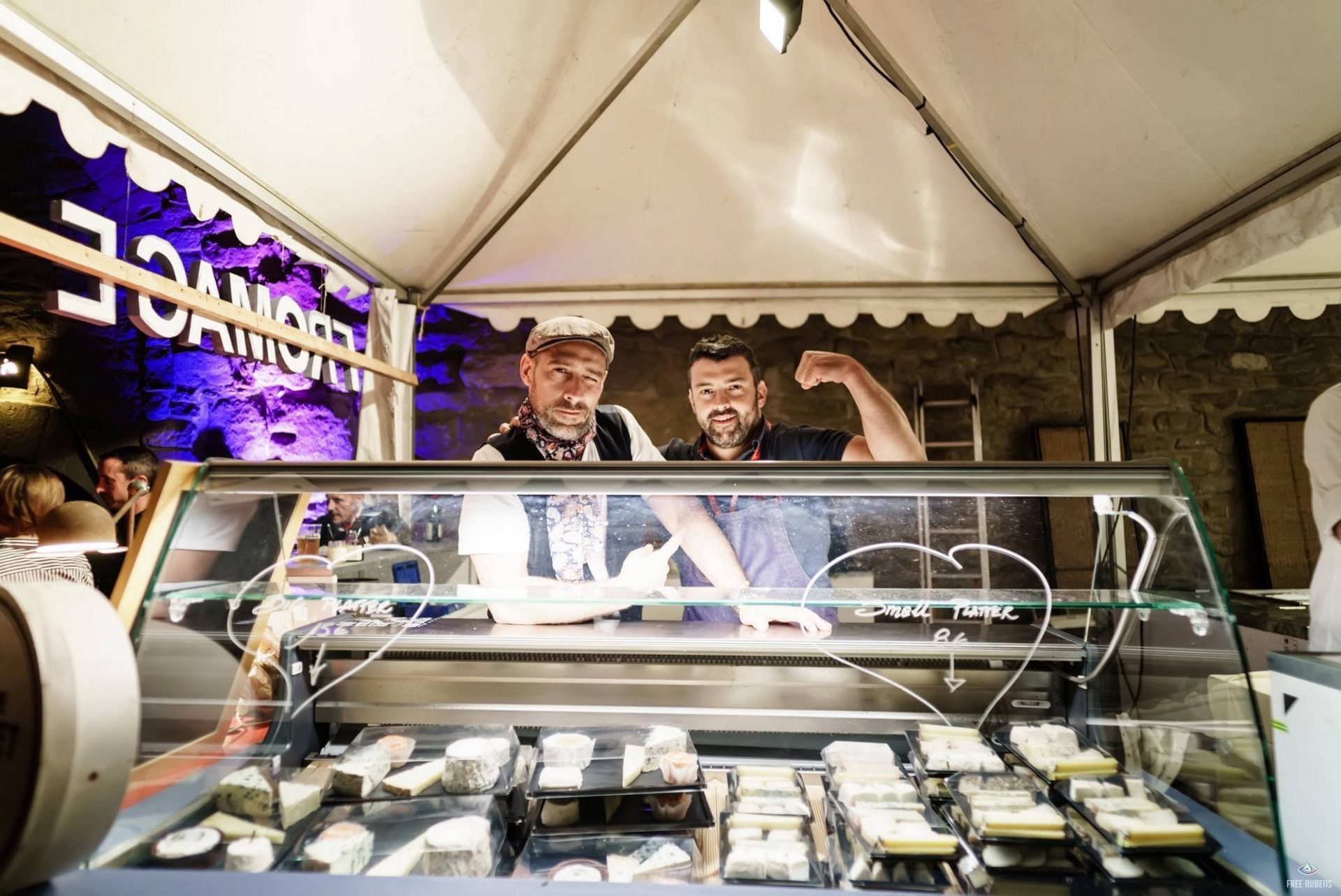How many music festivals have a fully stocked Fromagerie staffed by two knowledgable affineurs?