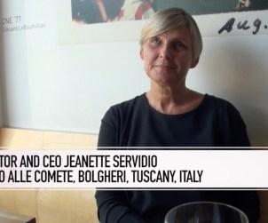 At Toronto's Archive Wine Bar Jeanette Servidio Of Campo Alle Comete.