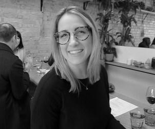 Young Blood Sommelier Toni Weber of Toronto's Giulietta restaurant.