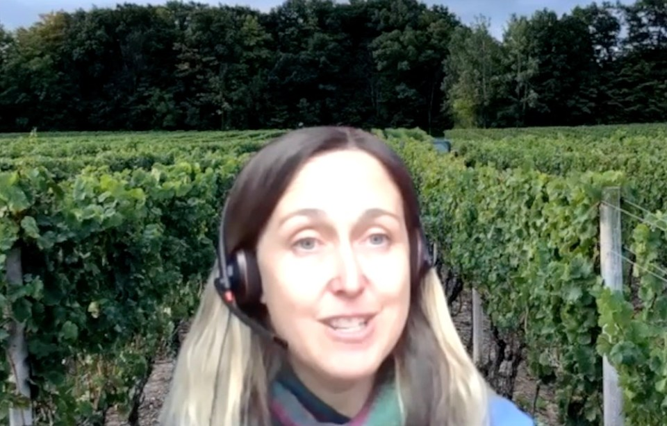 """Thirty Bench winemaker Emma Garner guides us through the excellent 2017 """"Small lot"""" Cabernet Franc."""
