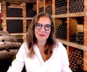 Vini Venture's Michelle Paris speaks to us direct from the comfort of her marvellous green screen cellar.