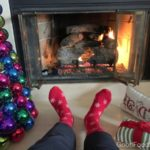 Christmas Humor: A Selfie by the Fire