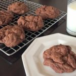Chunky Double Chocolate Cookies