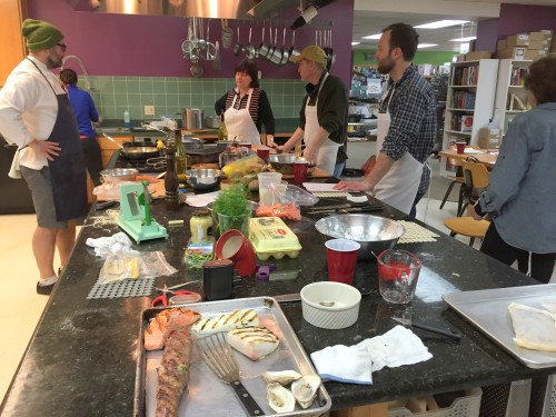 seafood cooking class