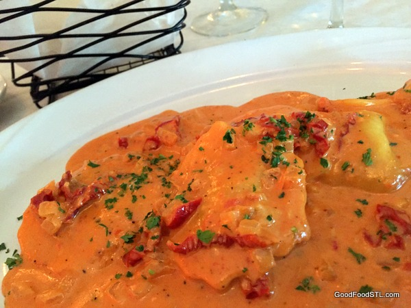 Giovanni's Lobster Ravioli