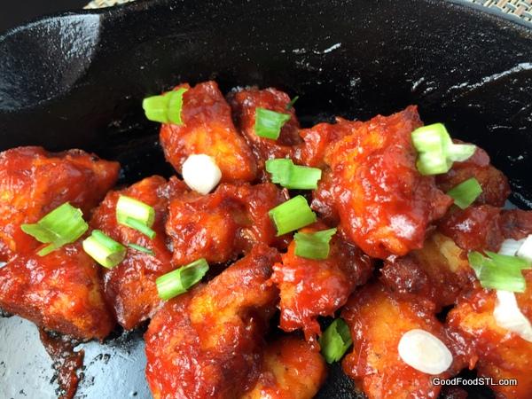 Manchurian chicken *