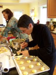 dorie greenspan make gougeres