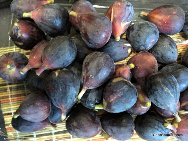 The figs from Trader Joe's were ripe and tasty.