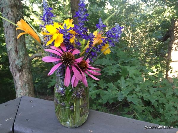 flowers in vase *