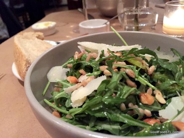 Brussells Sprout salad at Niche Restaurant