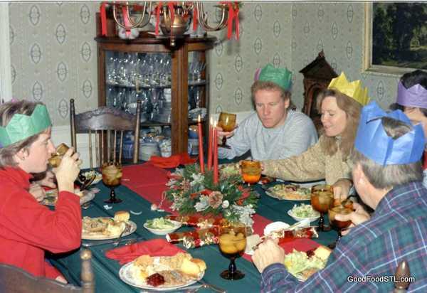 Christmas, 1988, Rolla farm house