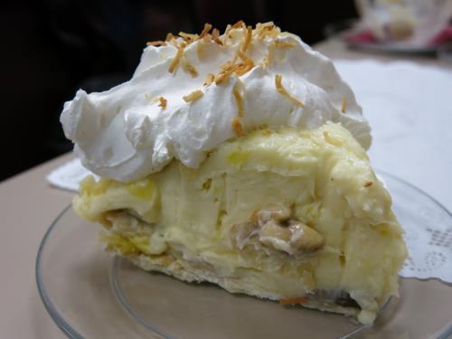 Tahitian Cream Pie from Slice of Pie, Rolla, MO