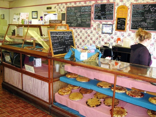 slice of pie interior
