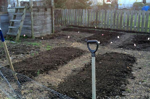 Backyard gardening compost