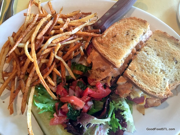 cafe provencal reuben sandwich