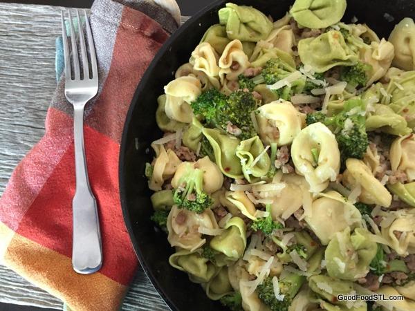orecchiette broccoli sausage *