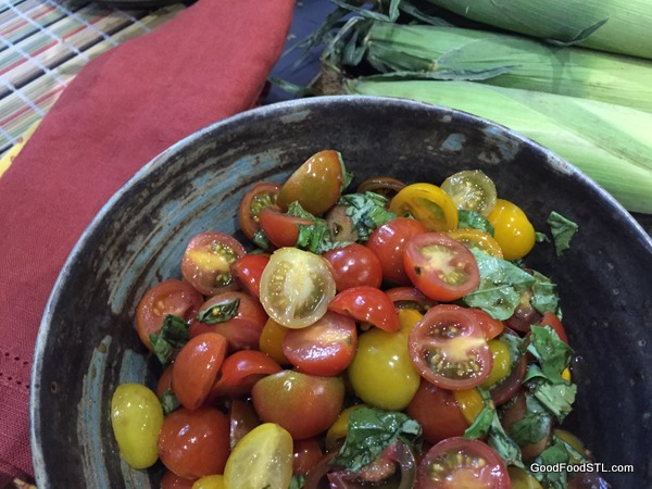Nina's tomato salad