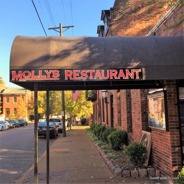 Mollys restaurant Soulard