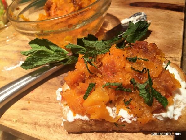 butternut squash toast