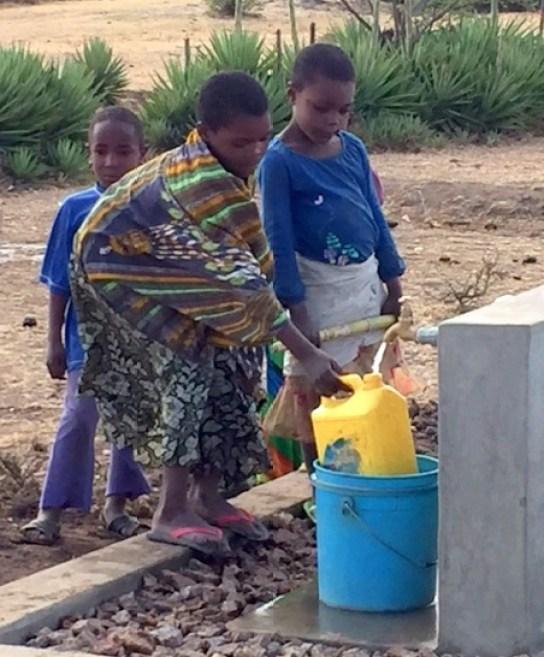 Tanzania well water Africa