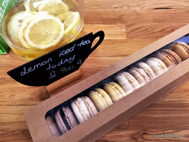 Macarons from LIke Home French Cafe